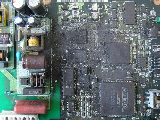 s-⑤-1回路基板(洗浄前)