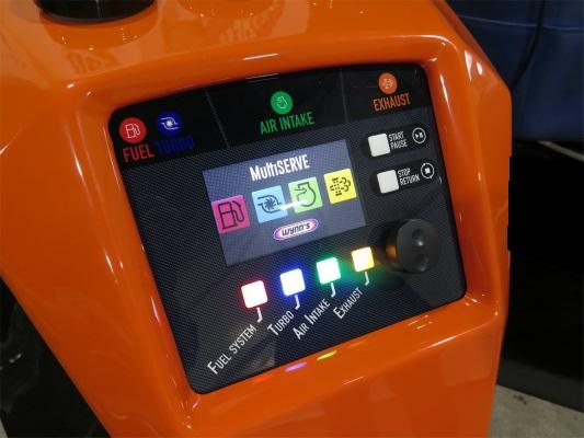 マルチサーブ(インジェクター・DPF)洗浄システム。 クリーンディーゼルのウイークポイントは吸気系の煤蓄積だけじゃない!!