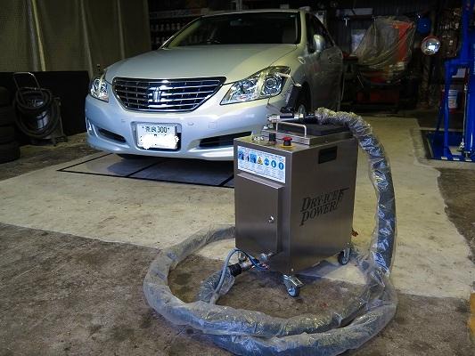 直噴インテークバルブのカーボンに!  ドライアイス洗浄(DSC)。  ノーダメージで日帰り作業OK。