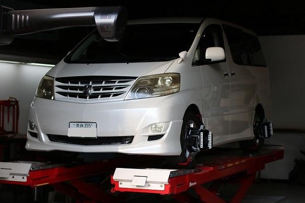 奈良県 アルファード MNH10系 リフレッシュプラン。  効果的な整備が車両復活の近道ですよ~。