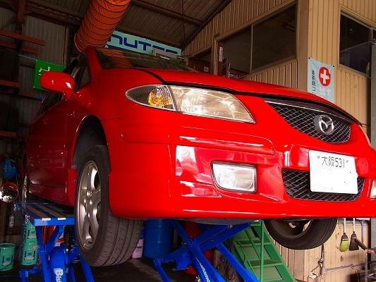 定期点検と車検整備。   継続メンテでグッドコンディション。