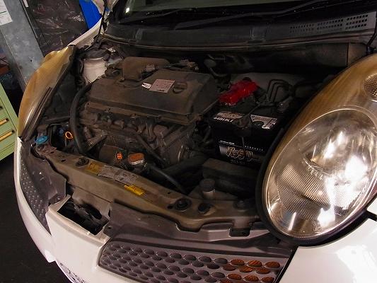 点検整備の進め方。   整備記録のない中古車に。