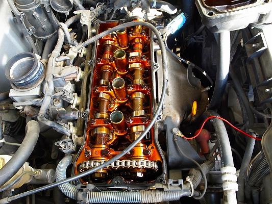 エンジンオイル漏れ修理