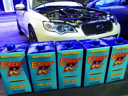 レガシィ BP5     NUTEC ニューテックエンジンオイル。